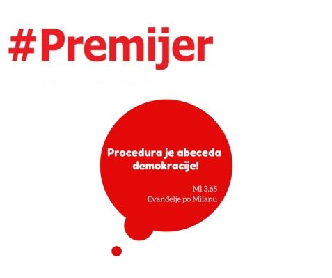 Procedura je abeceda demokracije! (4)